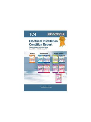 Kewtech TC4 Survey Schedule Test Report