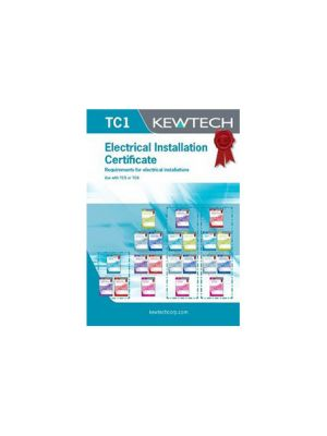 Kewtech TC1 Electrical Installation Certificate